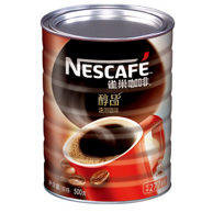 可冲277杯!Nestlé 雀巢 醇品 速溶咖啡 500g 罐装