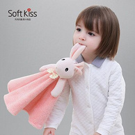 玩偶+毛巾 Soft Kiss 儿童 抗菌 卡通擦手巾