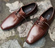 38码起: ECCO爱步 Edinburgh 男款正装皮鞋