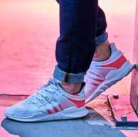 adidas 阿迪達斯 三葉草男女 EQT support adv 跑步鞋