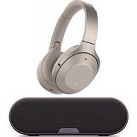 SONY  WH-1000XM2 头戴式降噪耳机 + SRS-XB2 蓝牙无线音箱 套装