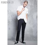 Forever 21 男士 棉质 休闲牛仔裤