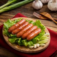 台湾风味 海霸王 黑珍猪香肠268g约6根*2件