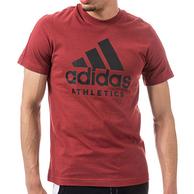 团购否?adidas 阿迪达斯 ATHLETICS 男士T恤