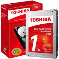 0点开秒! 东芝 1TB P300系列 7200转 64M SATA3  台式机硬盘