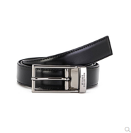 新低:Versace 范思哲 男士 小牛皮针扣皮带 V91225S