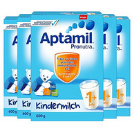 Aptamil 爱他美 婴幼儿奶粉 1+段(1-2岁) 600g*5盒