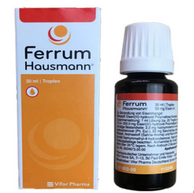 Ferrum Hausmann 婴幼儿孕妇补铁滴剂 30ml