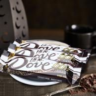 德芙 66%醇黑巧克力 43g*12*2盒