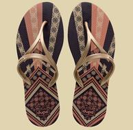 高端设计师款!巴西 Dupe Collection天然橡胶拖鞋