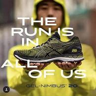 2018最帅跑鞋!Asics亚瑟士 GEL-Nimbus 20 男士顶级旗舰跑步鞋