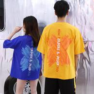烽火四季 PCMY 情侣款 嘻哈T恤
