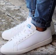 adidas 阿迪达斯 NEO 男款网眼系带板鞋