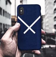 Adidas iphoneX 绒皮手机壳