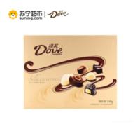 Dove 德芙 精心之选 多种口味巧克力140g礼盒装