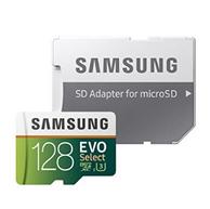 Samsung 128GB EVO Class 10 microSD 闪存卡 带适配器