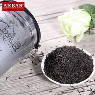 斯里兰卡进口 AKBAR 银罐锡兰红茶300g