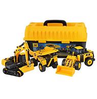 镇店之宝:CAT卡特彼勒 CATC80951 建筑拼装工程车组合