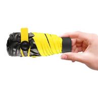收起仅手机大小:榕力 黑胶防晒遮阳  创意五折伞