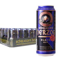 德国进口 歌德 黑啤酒 500ml*24听*2件