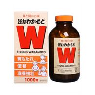 小S推荐、调理肠胃!Wakamoto若素 乳酸菌整肠胃药 1000粒