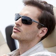 近视可定制!锐盾 铝镁镜框 男士偏光太阳镜