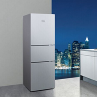21日0点: SIEMENS 西门子 KG28FA29EC 三门冰箱 274升