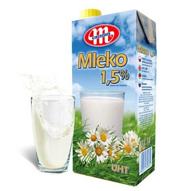波兰进口 MLEKOVITA 妙可 低脂进口牛奶 1L*12 *2件