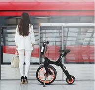 猛犸王 葫芦车 小Q折叠电动自行车 代步代驾车