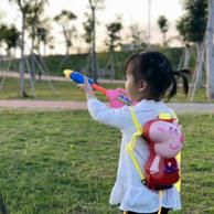 小猪佩奇 儿童 背包水枪