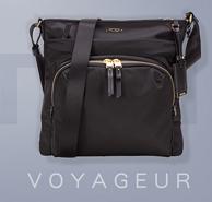 TUMI 途明 Voyageur Capri 超轻尼龙女款单肩包