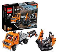 樂高 Technic機械組系列 修路工程車組合 42060