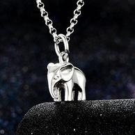 Lily charmed 吉祥小象 925银项链