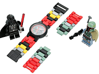 LEGO  樂高  星戰系列 達斯維達&波巴菲特 兒童手表套裝8020813 帶2個公仔
