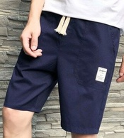 稻草人 男士纯棉微弹短裤
