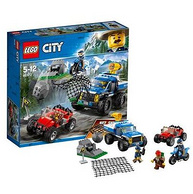 LEGO乐高 山地追击 60172