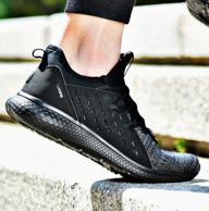 361度 一體飛織網面輕便跑步鞋