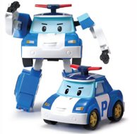 银辉玩具  珀利变形机器人 多款可选