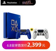 SONY 索尼 PlayStation 2018年Days of Play限量纪念版主机+银色/晶透手柄