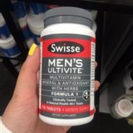 Swisse Ultivite 男士专用多种维他命 120片