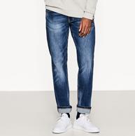 商场同款 Esprit 2018新款 男士 水洗直筒牛仔裤