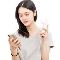 Miniso 名创优品 2000mAh 充电宝 手持电风扇