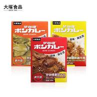 大塚食品 梦咖喱日式即食拌饭咖喱酱 3盒装
