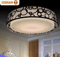 OSRAM 欧司朗 圆形镂空铁艺led吸顶灯 28W