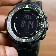 Casio卡西欧 Men's PRG-300CM-3CR 三重感应 太阳能多功能手表