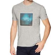 尺码齐全:Calvin Klein 男士 印花T恤