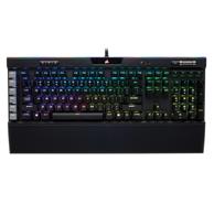 18日0点:CORSAIR 美商海盗船 K95 RGB PLATINUM 机械键盘 黑色银轴