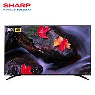 50英寸4K!SHARP夏普LCD-50SU575A 电视