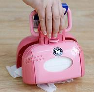PLUS会员:2件!IRIS爱丽思 FN-160 粉色 宠物拾便器