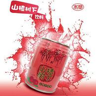 多喝不胖 本草西施 山楂汁饮料245ml*6罐